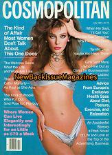 Cosmopolitan 7/81,Kelly LeBrock,Farrah Fawcett,July 1981,NEW