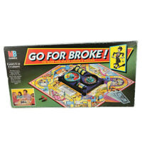Go For Broke! Vintage Board Game MB Games 1993 Edition Nineties 90s
