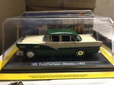 "DIE CAST "" FORD FAIRLANE - HAVANA - 1955 "" 1/43 TAXI COLLECTION SCALA 1/43"