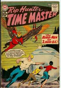 RIP HUNTER TIME MASTER #4 4.0 // SILVER AGE NICK CARDY COVER