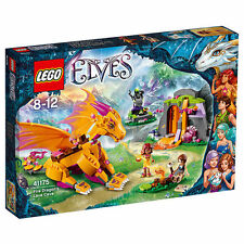 Lego Elves 41175 Fire Dragon's Lava Cave MISB