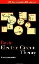 Basic Electric Circuit Theory: A One-Semester Text