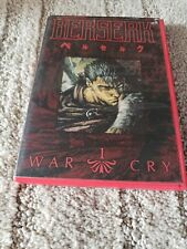 New ListingBerserk Vol. 1: War Cry (Dvd, 2002) Anime- Red Case-Oop Complete W/ Insert Rare