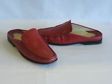 Tod's Red Leather Loafers/Flats - 6.5M - GR8!