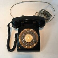 Vintage Phone Rotary Dial ITT  Desk Table Telephone As Is Untested Pen Holder