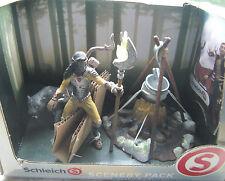 Schleich 41811 Scenery Pack Noctis mit Feuerstelle Neu & OVP Schleichfiguren Set