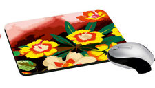 Flower Mouse Pad Rectangle Mouse Pad Design For Computer PC Desk