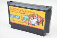 KARATEKA Famicom NES Nintendo Import JAPAN Game Cartridge fc