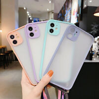 Camera Protection Starp Clear Case Cover For iPhone SE 2020 11 Pro Max XS XR 8 7