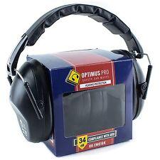 Rk Shooting Hearing Protection Ear Muff Ear Defender Folding Padded Head Band Bk