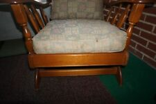 Maple Wood Sofa, 3 Chairs, Deacon Bench, and 2 End Tables