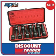 "SP Tools Socket Set Impact ½"" Drive Inhex 9Pc SAE - SP20375"