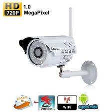 Wifi HD 720P ONVIF P2P Outdoor Wireless IP Camera Night Vision Waterproof