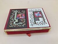 Monogram L & A Playing Cards with Case by Congress