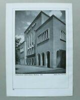BB1) Architektur Ludwig Ruff 1928 Nürnberg Kino Lichtspieltheater Phöbus Palast
