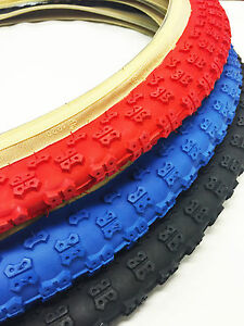 OLD SCHOOL BMX COMP 3 SKIN WALL TYRE 26 X 2.125 BY KENDA SOLD IN PAIRS