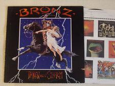 BRONZ - Taken by Storm LP Bronze Records US 1984