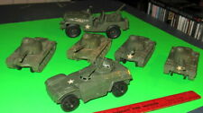 Nice Lot Of Vintage Timmee Us Army Vehicles.