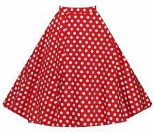 Womens Retro High Waisted Flared A Line Mini Short Pleated Tutu Cotton Skirt