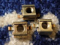 3  FORD FORD CAPRI MK3 REAR WIPER MOTOR RETAINING CAPTIVE NUTS NEW OLD STOCK