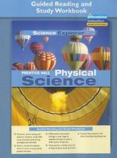 PRENTICE HALL SCIENCE EXPLORER PHYSICAL SCIENCE GUIDED READING AND      STUDY WO