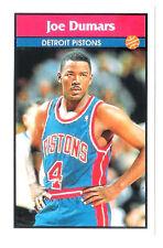 Joe Dumars 1992-93 Detroit Pistons Basketball Italian Panni Sticker card