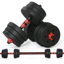 40KG Adjustable Dumbbell Weight Weights  plastic cover  Gym Workout  Dumbbells