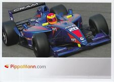 Pippa Mann Formula RENAULT PROMO CARD INDY CAR 1.