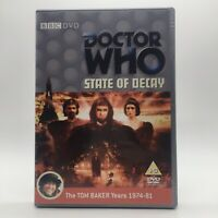 Doctor Who State Of Decay The TOM BAKER Years 1974-81 (DVD, 2009)