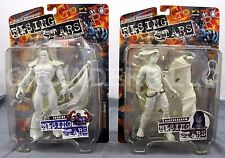 Straczynski Rising Stars RAVENSHADOW & PATRIOT Action Figures White Version NIP