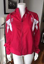 NWT Sugoi Women's Red Pink Windbreaker Jacket Sz M $120