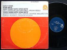 STAN GETZ JIMMY RANEY TERRY GIBBS Early Stan LP PRESTIGE 7255 George Wallington
