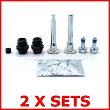 2 MITSUBISHI GALANT V6 24V FRONT BRAKE CALIPER SLIDER PINS GUIDE  KIT 113-1393X