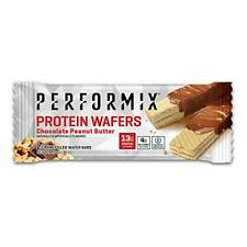 PERFORMIX | Protein Wafers | Chocolate Peanut Butter  | 12 Packs x 2 bars each