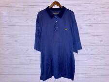 Masters polo shirt mens XXL golf short sleeve blue