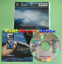 CD LOVE STORIES LOVE GAMES 3 compilation 1992 ENNIO MORRICONE GIANNI ODDI (C25)