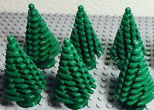 Lego New Bulk Lot Christmas Large Pine Tree X6 For City Street Decorations