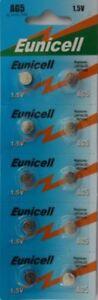 20 Eunicell AG5 LR48, G5A, LR754, LR750, L754, 393A Button/Coin Alkaline Battery