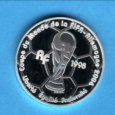 Polierte Platte Münzen mit Fußball-Motiven aus Frankreich