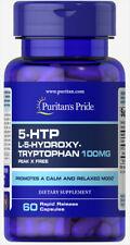 Puritan's Pride 5-HTP 100 mg (Griffonia Simplicifolia) - 60 Capsules