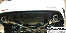 NEW OEM LEXUS 15-18 RC350 F-SPORT PERFORMANCE EXHAUST WITH REAR BUMPER DIFFUSER