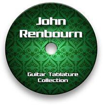 JOHN RENBOURN GUITAR TAB TABLATURE SONG BOOK SOFTWARE CD
