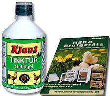 2x1000ml Klaus Tintura para Aves de corral Desinfección del agua potable @HEKA: