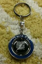 Tampa Bay Lightning NHL hockey spinner Keychain Keyring New