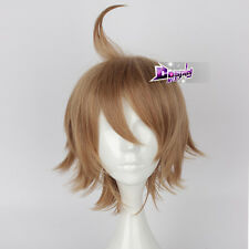 30CM Light Brown Short Hair for Glory of the king Anime Party Cosplay Wig + Cap