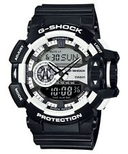 Casio G-Shock Analogue/Digital Mens Black/White XL Watch GA-400-1A GA-400-1ADR