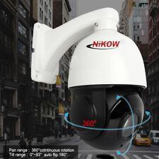36X Zoom 2MP 1080P HD AHD/TVI  4'' CCTV High Speed PTZ Dome Camera Night Vision