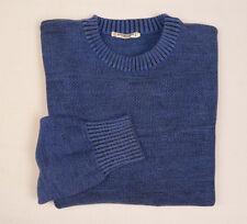 SAINT LAURENT RIVE GAUCHE Vtg 70s Mens Wool knit Jumper M L Sweater France YSL