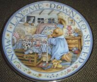 Teddy Says His Prayers Franklin Mint Royal Doulton Limited Edition Plate
