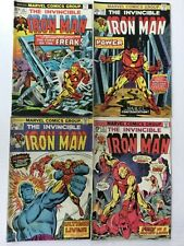 THE INVINCIBLE IRON MAN 1970s Marvel comic lot 8 BOOKS 67 69 70 73 74 75 76 77